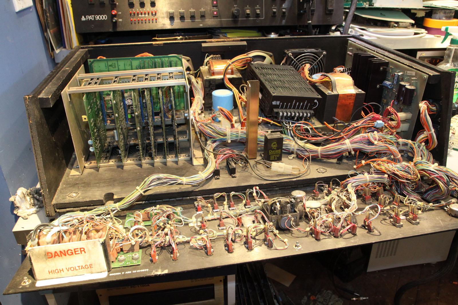 fs parts atari pat 9000 test fixture with 13 amplifone working rh forums arcade museum com